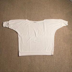 JET John Eshaya White Sweater